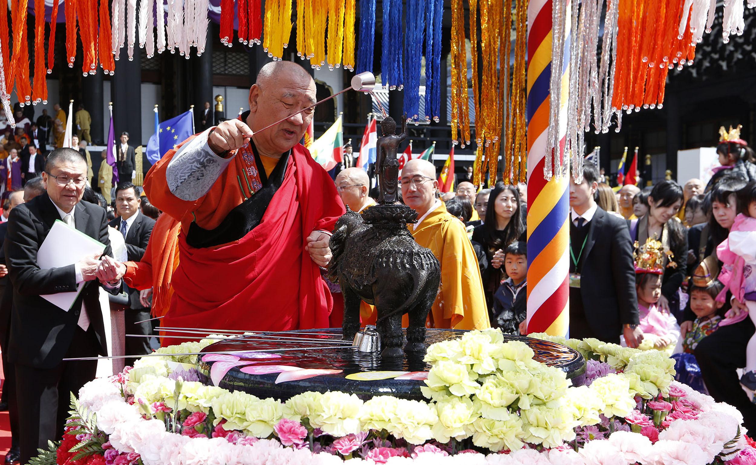 モンゴル佛教サミット会長 モンゴル法王猊下御一行 御参詣